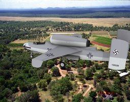 Heinkel He 162 Volksjaeger V04 3D model