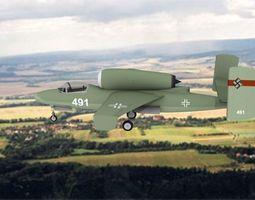 3D model Heinkel He 162 Volksjaeger V13