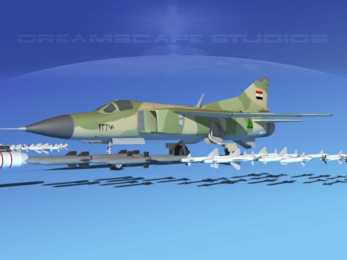 Mig 23 Flogger B V22 Iraq