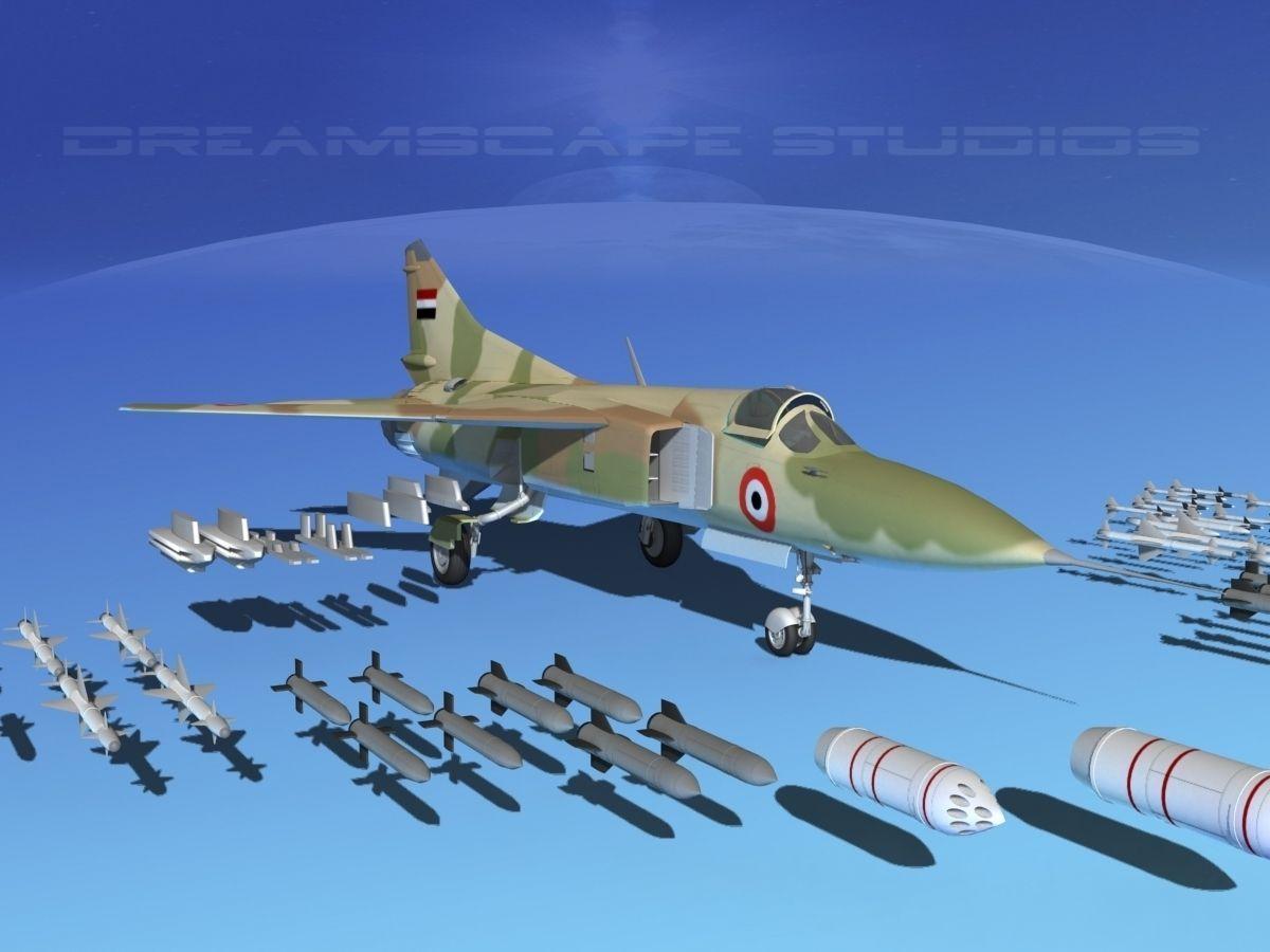 Mig-23 Fighter Libya