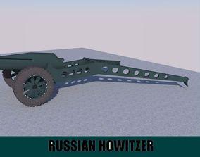 Russian Howitzer 3D asset
