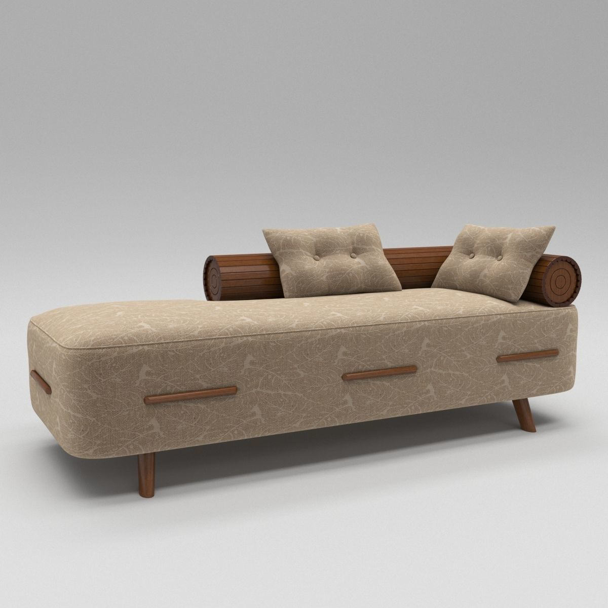Model Luxury Divan Sofa With Wooden