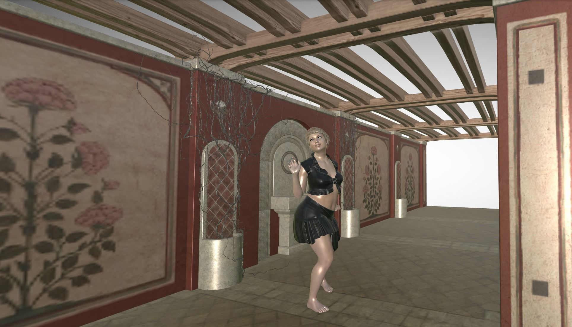 Barefoot Dancer - from DAZ 3D tutorial daz-3d | CGTrader