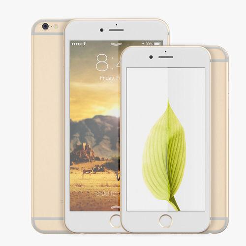 apple iphone 6 vs 6plus 3d model max obj mtl fbx 1