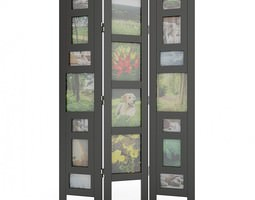 Picture Frame Room Divider 05 3D Model