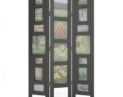 Picture Frame Room Divider 05 3D Model