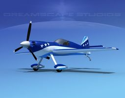 3D rigged MXS Aerobatic Sport