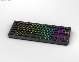 3D model Razer BlackWidow Tournament Edition Chroma