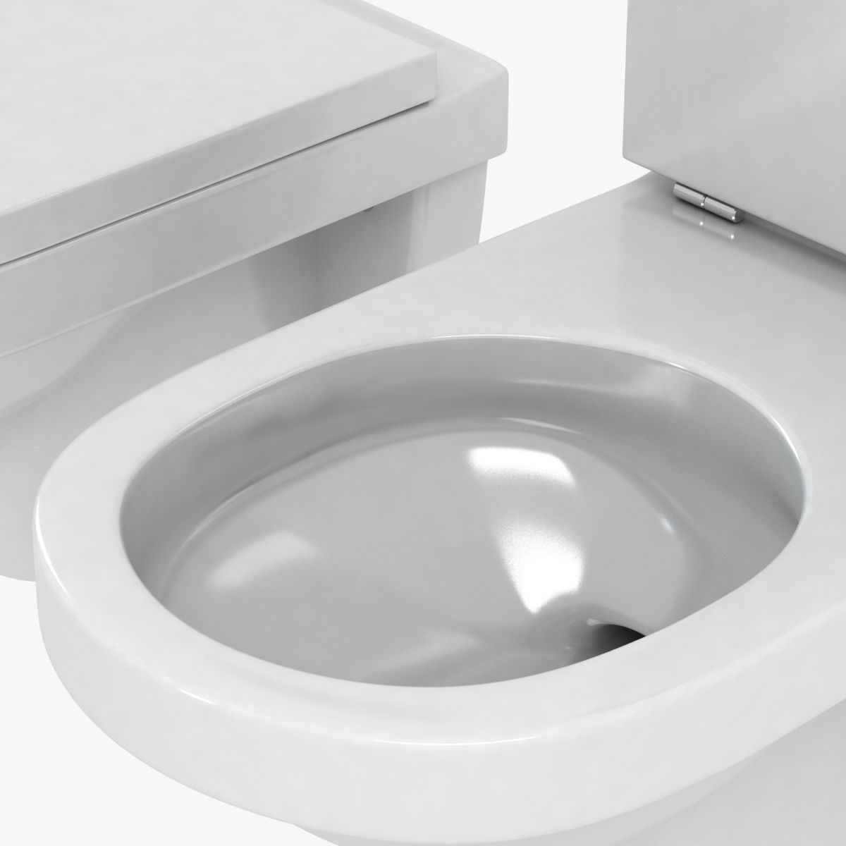 duravit happy d toilet 3d model max obj 3ds fbx mtl 9