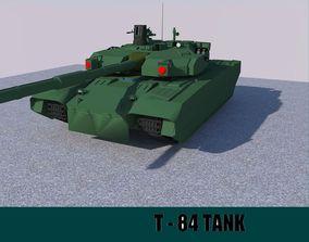T-84 Tank 3D asset VR / AR ready