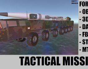 3D model realtime Ballistic Missile