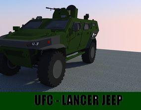 3D asset UFC LANCER
