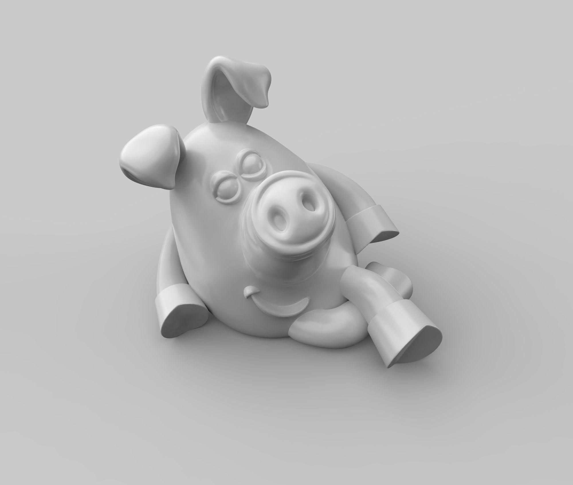 Pig 2019 print 3D model