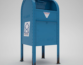3D New York Mail Box