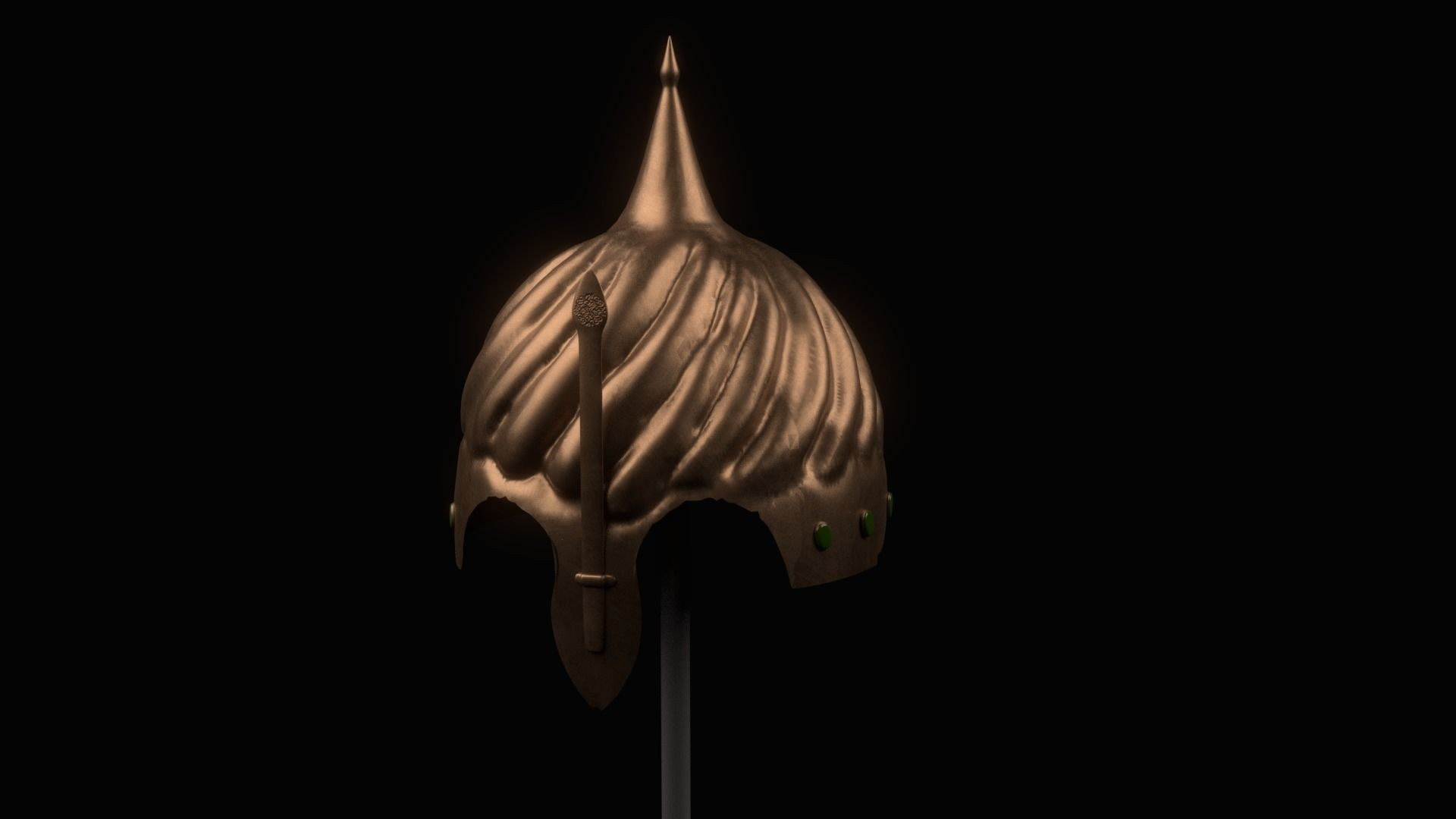 Helmet Of Ottoman Soldier Pbr Low Poly 3d Asset Cgtrader