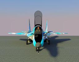 MIG-29 AIRCRAFT 3D model