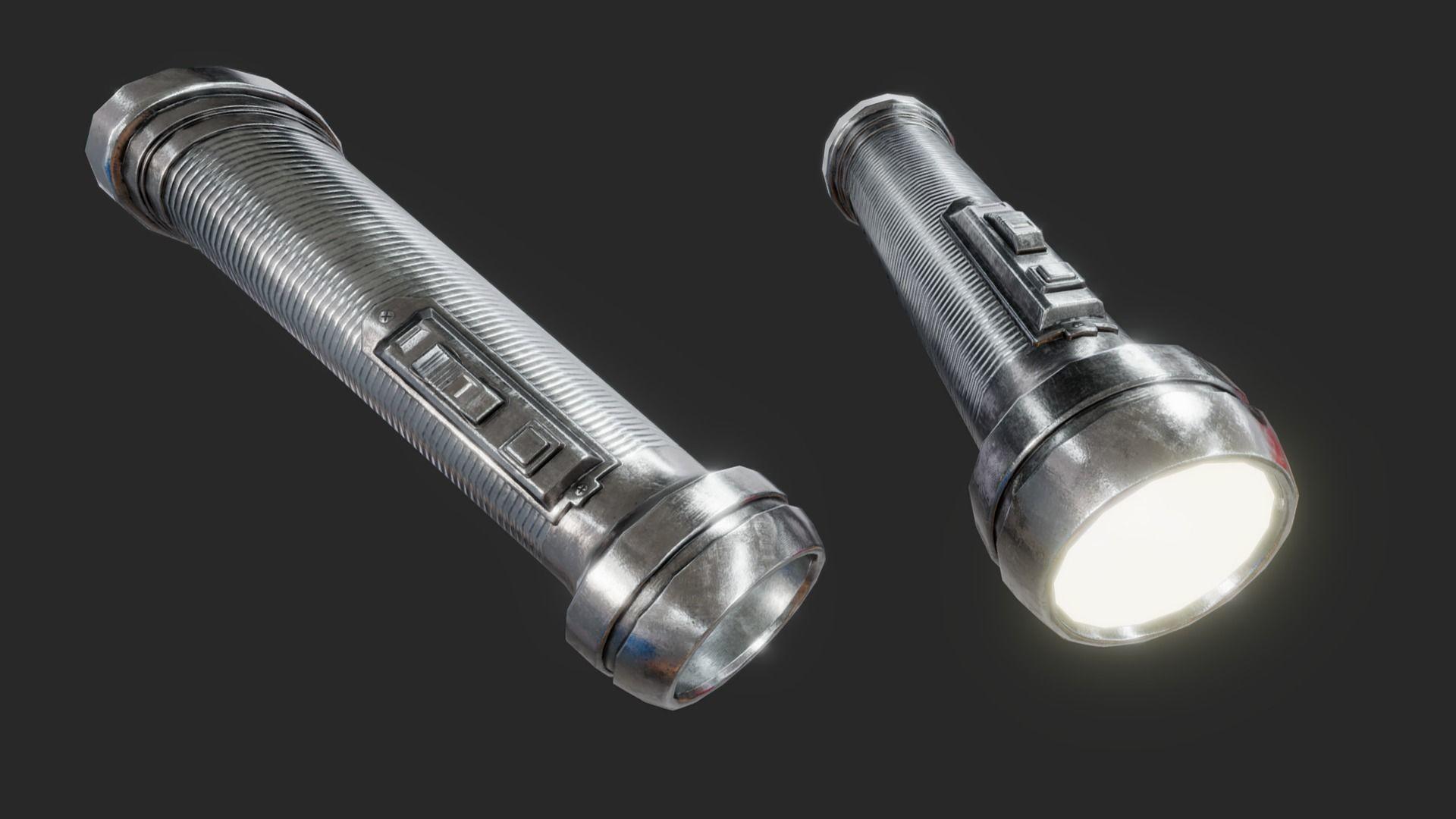 Retro Flashlight PBR