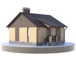 3D PBR Residential house BP-22