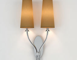 3D Chelsom Double Wall Light