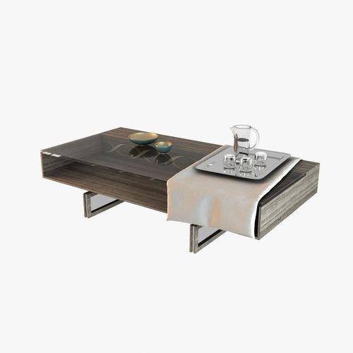 Linley Table Decorative Set3D model