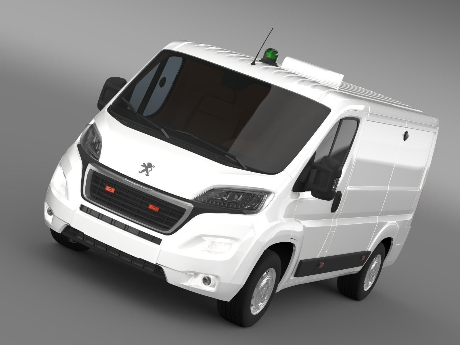 Peugeot Boxer Collection Services 2017