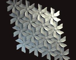 3d tiles kaza concrete - petal