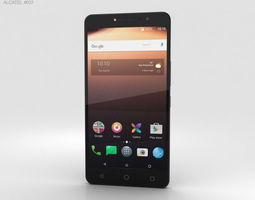 3D Alcatel A3 XL Black