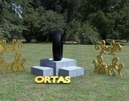 3D model ORTAS TIRE NO 2