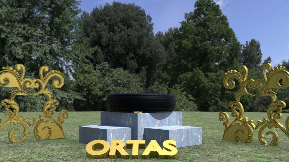 ORTAS TIRE NO 7 GAME READY