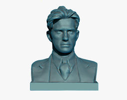 Mayakovsky Bust 3D Print Model decor