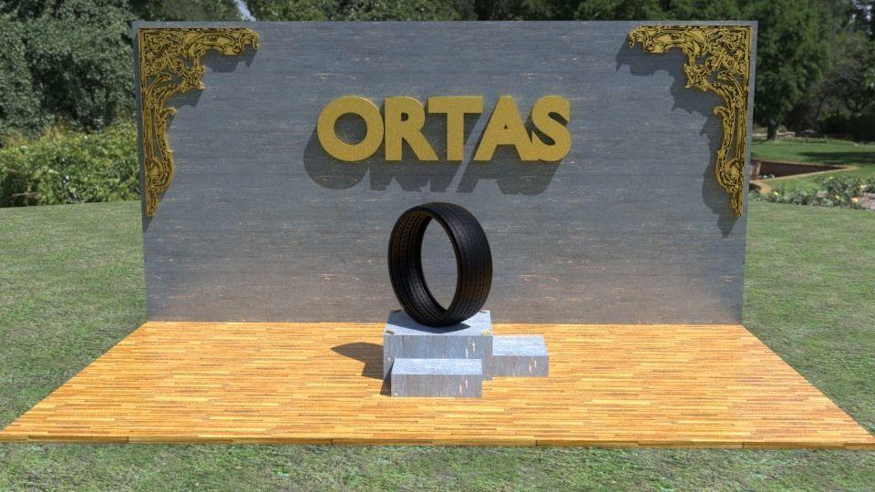 ORTAS TIRE NO 22 GAME READY