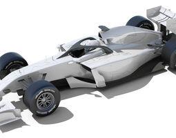 3D model Generic F1 2015-2016 Race Car
