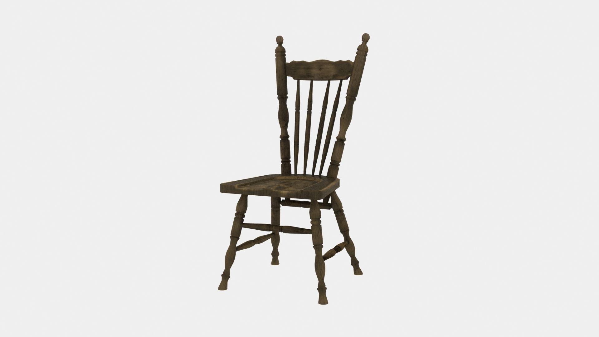 Farmhouse chair rustic