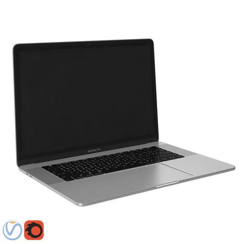macbook pro  3d model max obj mtl 3ds fbx 1