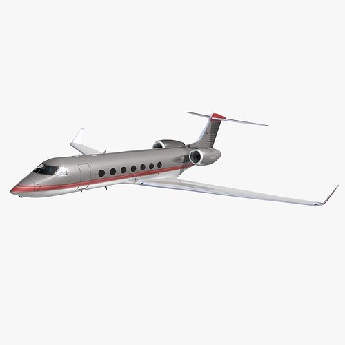 gulfstream 550 gama aviation 3d model animated max obj mtl 3ds lwo lw lws hrc xsi dxf 1