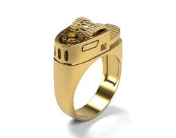 Lighter Men Ring 3D printable model