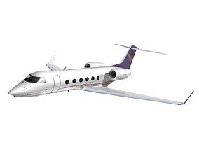 Gulfstream 450 Private livery 3 3D