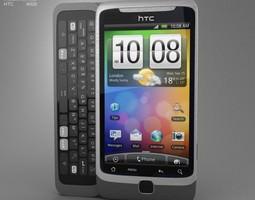 HTC Desire-Z 3D model