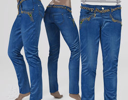 3D asset Jeans