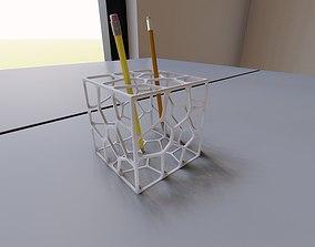 3D printable model CUBIC PARAMETRIC PEN HOLDER