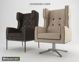 Cassandra chair 3D model