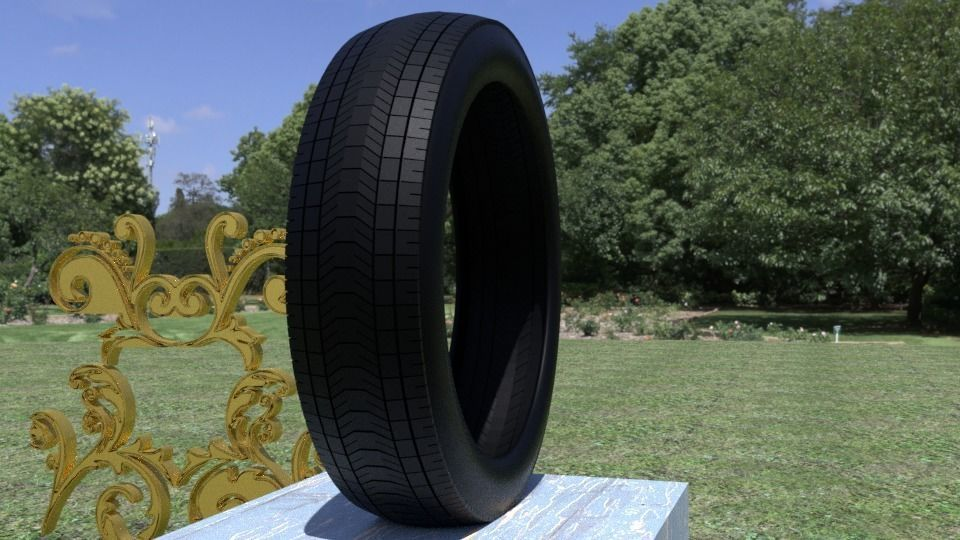 ORTAS TIRE NO 1 GAME READY AND 3D PRINTABLE