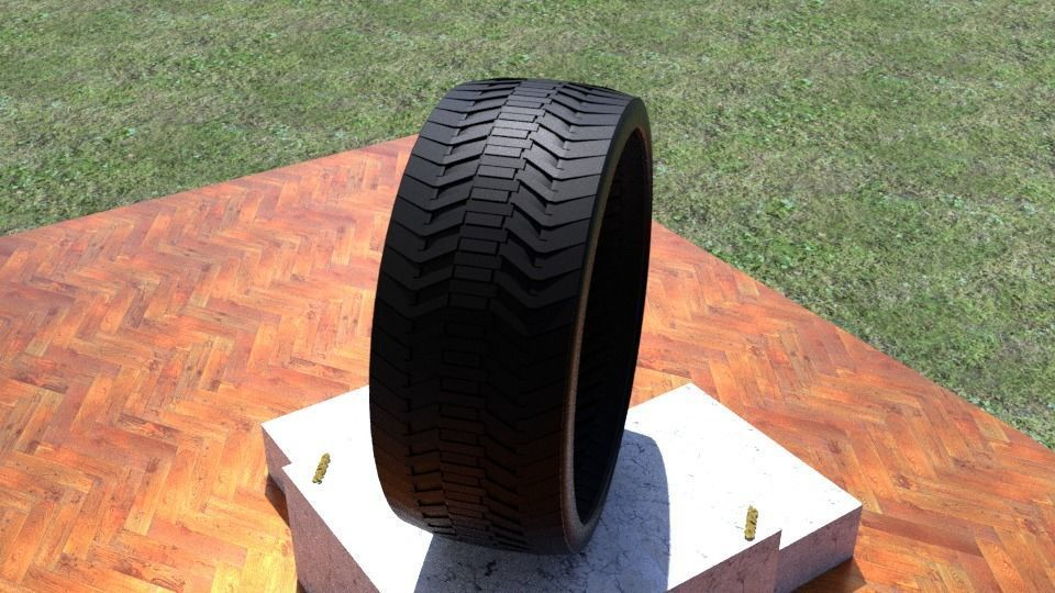 ORTAS TIRE NO 27 GAME READY AND 3D PRINTABLE