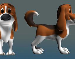 3D Dog cartoon