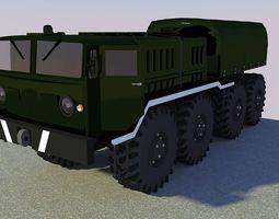 Military Freight Truck I 3D asset