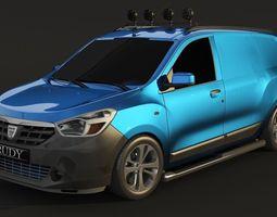 Dacia Lodgy Van concept 3D models