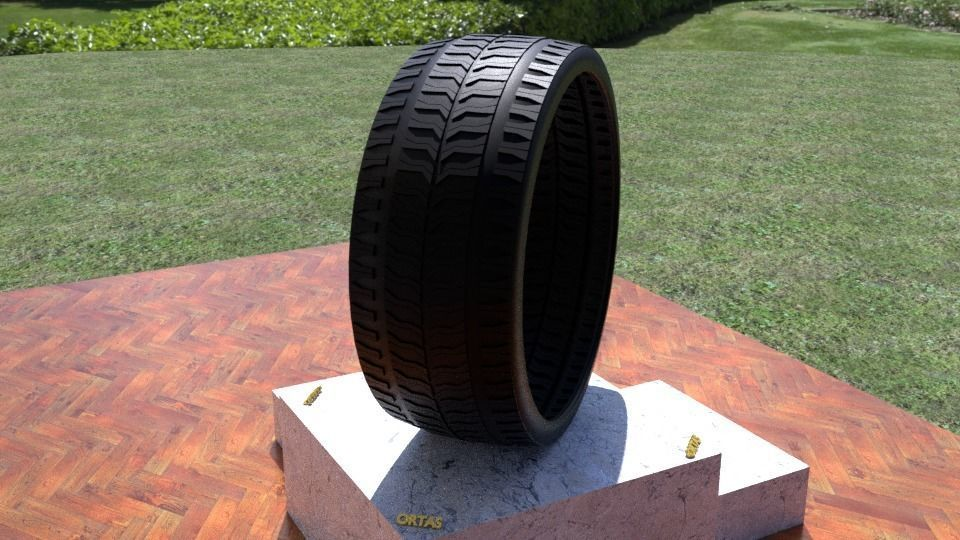 ORTAS TIRE NO 34 GAME READY AND 3D PRINTABLE