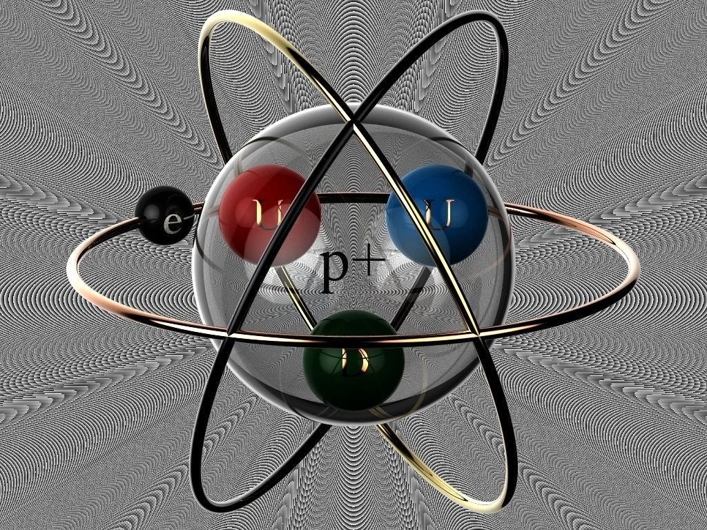 Hydrogen Atom Tattoo concept free 3D Model SLDPRT SLDASM ...