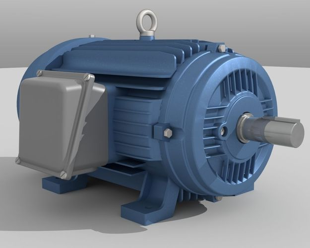 Industrial electric motor 3d model for Used industrial electric motors