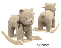 Bear Plush Rocker 3D model